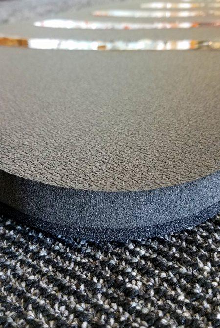 Personal Body Mat Side View of Foam Mat