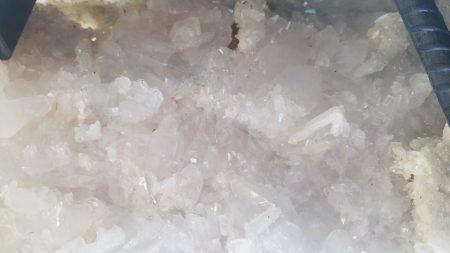 Giant Singing Angel Wing Quartz Crystal Cluster
