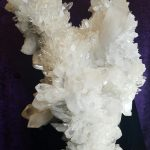Giant Singing Angel Wing Quartz Crystal Cluster