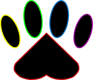 Paw with a Heart ... My Pet Mat